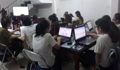 Lớp học K8- Kế toán thực hành Sang Nguyên – Đà Nẵng
